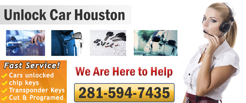 Unlock Car Houston banner